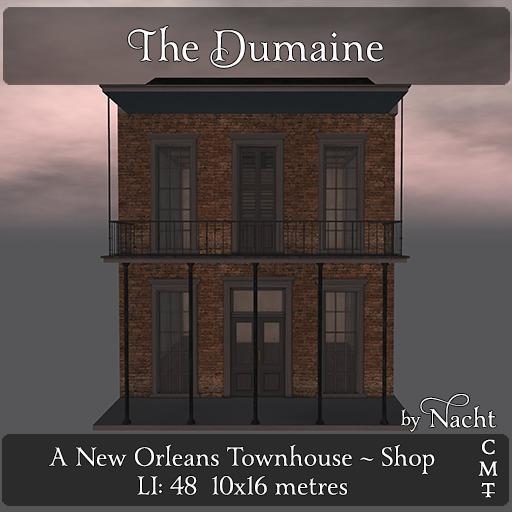 *~ by Nacht ~ The Dumaine