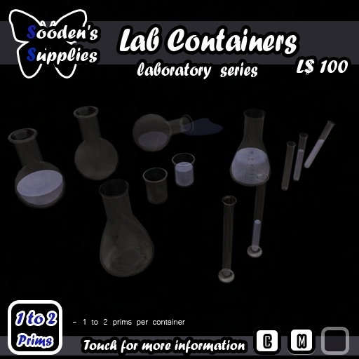 laboratory equipment Containers