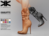 Charlotte :: Ankle Boots :: 10 Colors :: {kokoia} / for maitreya, belleza, slink, tmp and eve