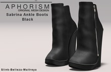 !APHORISM! Sabrina Ankle Boots - Black