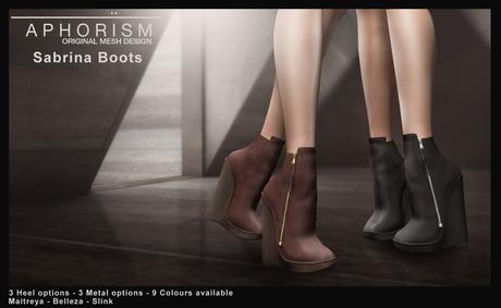 !APHORISM! Sabrina Ankle Boots - DEMO