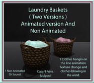Laundry Baskets ( Animated and Non Animated