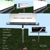 Mesh Billboard ad you own logo or Ad-(Crate)