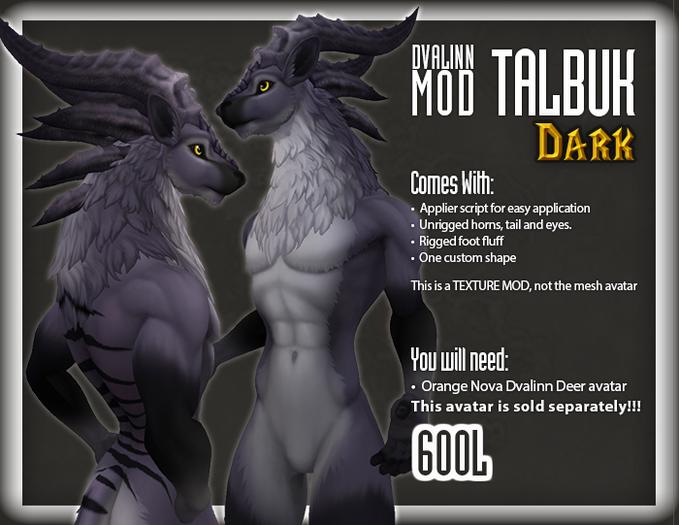 ::Static:: Dvalinn Talbuk - Dark