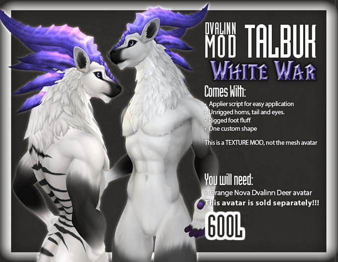 ::Static:: Dvalinn Talbuk - White War