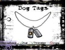 ::Foxy Fashions:: Dog Tags