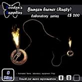 Bunsen burner (Rusty)