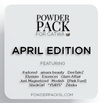 Powder Pack for Catwa April Edition