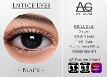 AG. Entice Eyes - Black