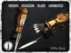 Hidden Assassin Blade