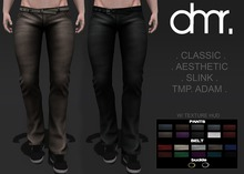 [DR] Male Pants ATAC 10 Color :: Mesh:;