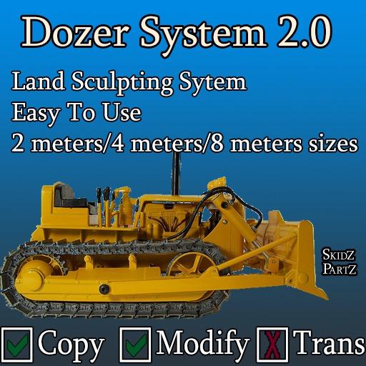 Skidz Partz - Skidz Dozer System
