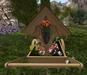 Cj easter cart planter with basket 003