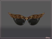 A N E Glasses - Fly Away Sunglasses in Bronze