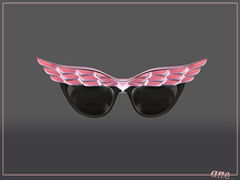 A N E Glasses - Fly Away Sunglasses in Candy