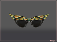 A N E Glasses - Fly Away Sunglasses in Forest