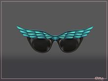 A N E Glasses - Fly Away Sunglasses in Ocean