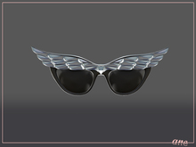A N E Glasses - Fly Away Sunglasses in Silver