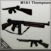 Ironsight Armaments - M1A1 Thompson Submachine Gun