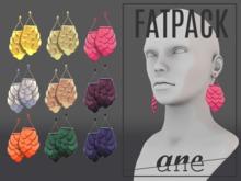 A N E jewelry - Afoil Earrings FATPACK