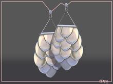 A N E jewelry - Afoil Earrings SILVER