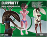 *DurpButt* Jackalope / Rabbit / Bunny Furry Bento Avatar