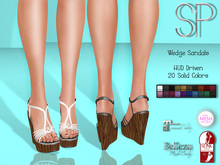 .:SP:. Adrienne Wedge Sandals v1.0
