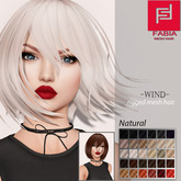 -FABIA- Mesh Hair  <Wind> Natural Tones