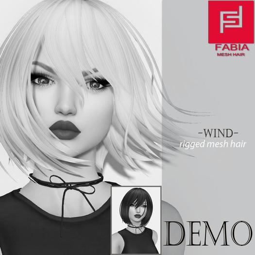 -FABIA- Mesh Hair   <Wind> DEMO