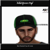 Country Couture John Deere Hat