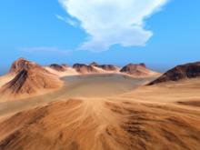Y.B -sim surround landscape-Arid mountains(copy)