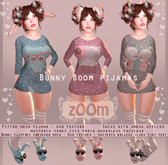 zOOm - Bunny Boom Pijamas - 3 Colors included!!