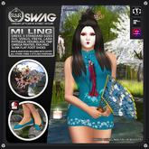 [RnR] Swag Mi Ling Outfit (Blue) [BOX]