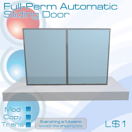 Full Permission Automatic Sliding Door