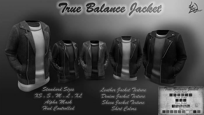 Treized DesignsTrue Balance Jacket DEMO