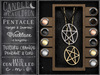 {C&C} Pentacle Necklace