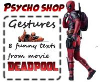 Deadpool Gestures ;D