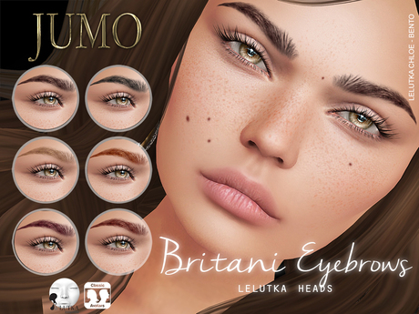 .:JUMO:. Britani Eyebrows - LELUTKA - ADD ME