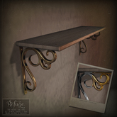 Refuge - The Hours Shelving Silver