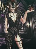 *!R.O!* Elegant BENTO Pose w/ Mesh Wine Glass