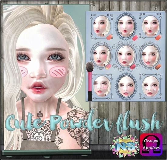 NS::  Cute Powder flush