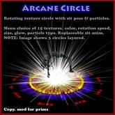 Arcane Circle V1 with Appearance Menu (Arcane Circles, Ritual Circle, Rune Circle, Magic)