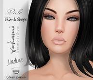 Yokami~Nadine Pale Skin [Catwa Bento Mesh Head]