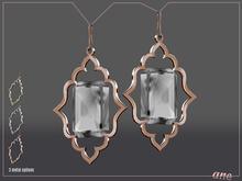 A N E Jewelry - Moroccan Gem Earrings DIAMOND