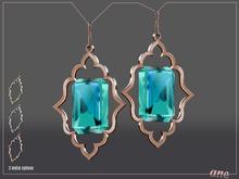 A N E Jewelry - Moroccan Gem Earrings MINT