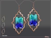 A N E Jewelry - Moroccan Gem Earrings OMBRE 2