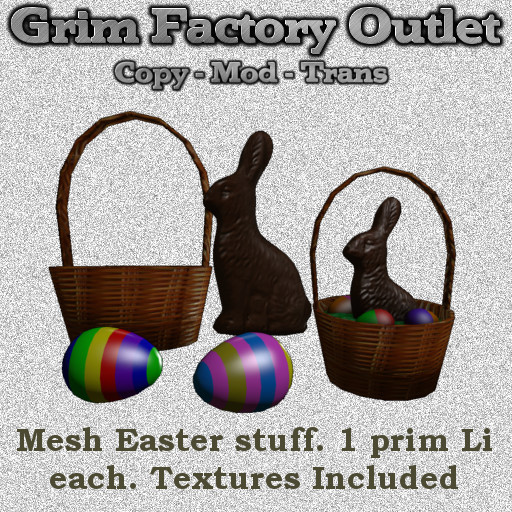 Mesh Easter Stuff