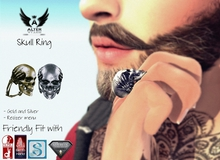 ::ALTER:: Skull Ring MALE [Fit Bento hands]