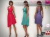 Full Perm Fitmesh One Shoulder Asymmetrical Cocktail Dress Slink, Maitreya, Belleza, Tonic, Ebody,TMP