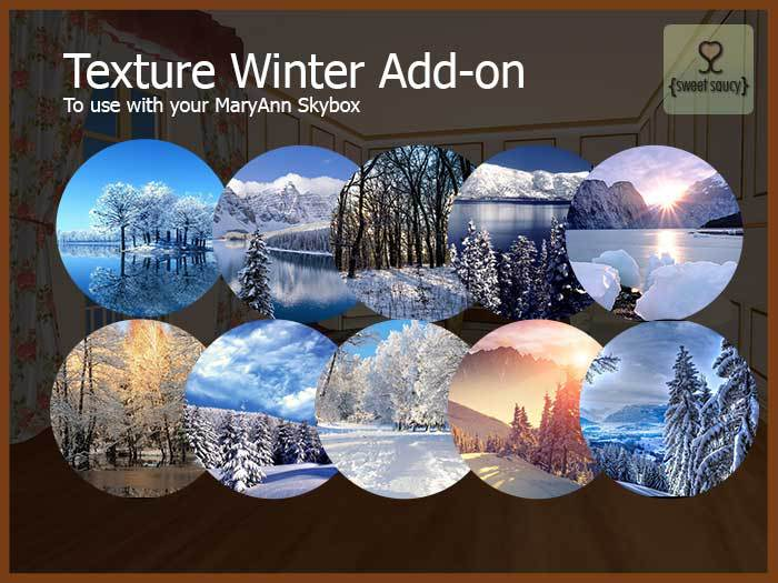 Skybox MaryAnn - Addon Winter Pack